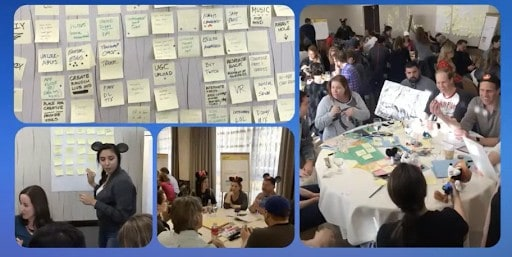 Disney ideation activity led by Kimberly Hicks - Pragmatic Institute Product Chat
